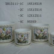 Набор цветочных горшков XH13111 фото
