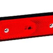 Фонарь контурный FT-004 C LED QS075 красный с проводом 599577 FRISTOM фото