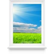 Окно из ПВХ 700х1500 фото