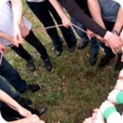 Командообразование «Веревочный курс» фото