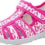 421010-13 фук-бел туфли летние дошкольные текстиль Р-р 27 фото