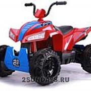 Детский квадроцикл на аккумуляторе T555TT красный фото