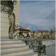 Перила дизайнерские кованые №62 фото