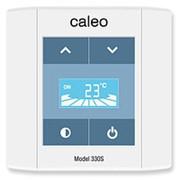 Терморегулятор CALEO 330PS встраиваемый сенсорный, программируемый 3 кВт фото