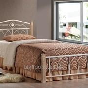 Кровать Миранда М односпальная крем (90х200) фото