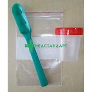 Набор (ложечка) для отбора и транспортировки проб головного мозга КРС на губкообразную энцефалопатию фото