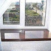 Изготовим и установим подоконники из натурального камня мрамора гранита фото