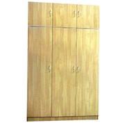 Шкаф трехдверный с антресолью фото