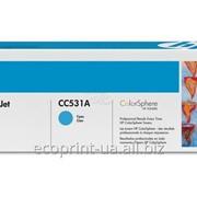 Услуга заправки картриджа HP CC531 A Cyan для лазерных принтеров фото