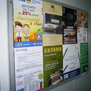 Размещение реклама в лифтах фото