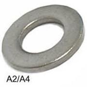 Шайба плоская из нержавеющей стали, М18 DIN 125 A2 фото