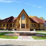 Дома из профилированного бруса, деревянные дома из клееного бруса в Алматы, Астане фото