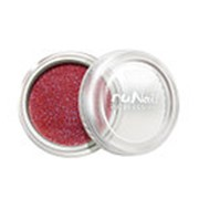 RuNail, дизайн для ногтей: пыль (красный) фото