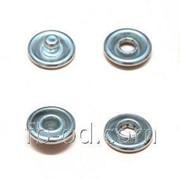 Кнопка трикотажная FB D-9,5 мм с эмалью Розовый 20609 фото