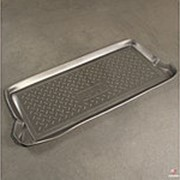 Коврик в багажник Kia Picanto 2003-2007 (полиуретановый с бортиком) фото