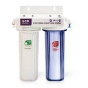 Водоочиститель под мойку 2-стадийный DUO (PU905W2-WF14-EZ) фото