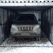 Металлический разборный гараж фото