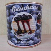 Черника консервированная, Steinhaus, 850мл фото