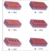 Кирпич керамический рядовой, пустотелый, полнотелый фото