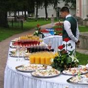 Праздничный банкет (услуги выездного ресторана) Киев фото