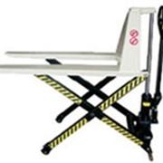 Ручная тележка для подъема поддонов, модель HLT1500-D - 1.5т фото