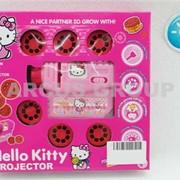 Детский проектор-фонарик на батарейках Hello Kitty. фото