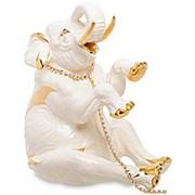 Скульптура Цирковой слон 26х31х20см. арт.AHURA-103 фото