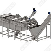 Флотационная мойка (лопастная) для полимеров фото