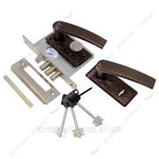 Замок врезной САМ (для калитки) ЗВ9-8/13-НР (кор.) 3 ключа №309550 фото