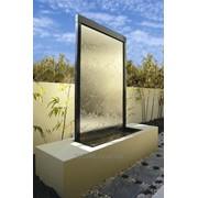 Водопады по стеклу на заказ фото