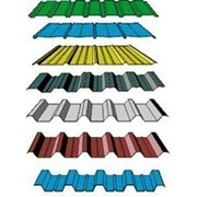 Профнастил несущий Н114 Цинк/полимер Зеленый фото