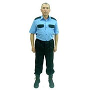 Рубашка охранника № 20 короткий рукав. Размер 48 фото