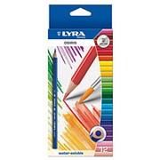 Набор акварельных цветных карандашей LYRA Osiris Aquarell, 3.3 мм, 12 цветов фото