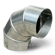Колено для дымохода нержавеющая сталь 1 мм D115 угол 135 градусов фото