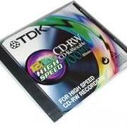 CD-RW диск TDK 80m фото