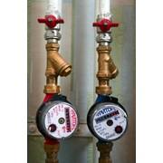 Монтаж приладів і засобів вимірювання води і тепла фото