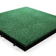 Плитка резиновая EcoStep 500*500 мм толщиной 10, 16, 30, 40мм фото