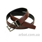 Ремень Мужской кожа Z350505 brown-black двухсторонний фото