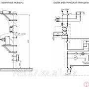 Мачтовая трансформаторная подстанция однофазная типа мтпо 4-10/10(6)/0,23 у1 фото