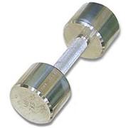 Гантель хромированная для фитнеса 10 кг MB-FitM-10 фото