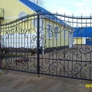 Кованые ворота, калитки фото