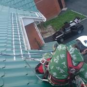 Защита крыш от сосулек,обогрев желобов,водостоков фото
