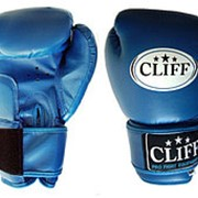 Перчатки боксерские CS-365 CLUB PVC взрослые, синие, 8 OZ фото