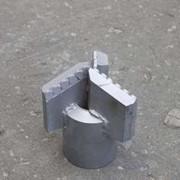 Алмазное 3-х лопастное PDC буровое долото D-175 мм фото