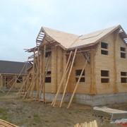 Малоэтажное строительство из дерева фото
