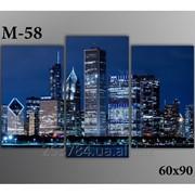 Картина модульная М-58, размер 60х90 фото