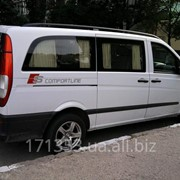 Перевозка пассажиров и мелкого груза на автомобиле Mercedes Vito по городу, району, области и Украине фото
