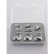 Лапки для бытовых швейных машин Набор лапок для подрубки и окантователь CY-007-001 фото