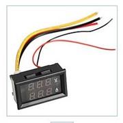 Цифровий DC вольтметр 0 -300В + амперметр 0 -10А фото
