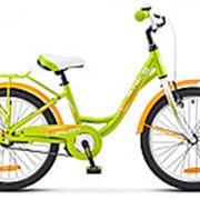 "Велосипед Stels Pilot-220 Lady 20"" (12"" Зеленый), арт. V010 фото"